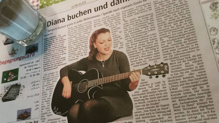 Diana and the music Charity Project